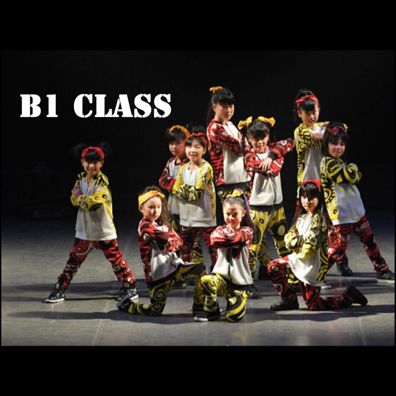 ダンス発表会B1クラス